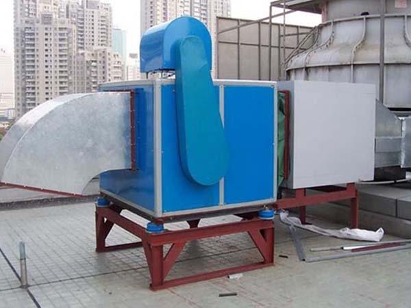 静电油烟净化器工程图 (2)