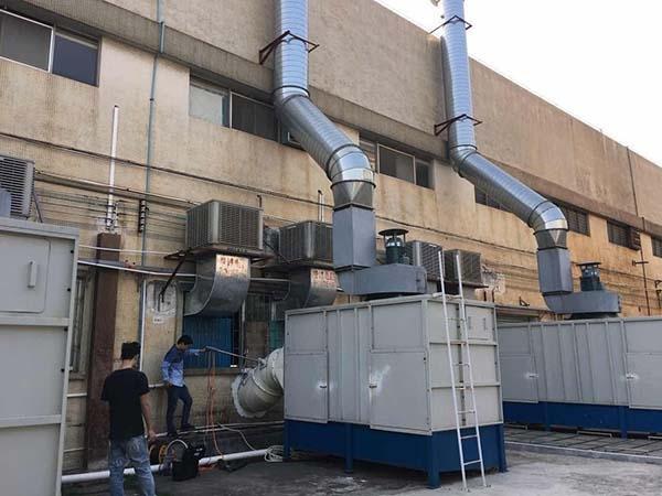 冲击式除尘器工程图
